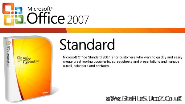 Microsoft Office 2007 Standard (with German Language Pack)